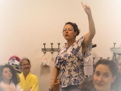 Veronica Vieira | Claquettes américaines | Le Fers Play